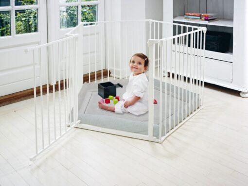 Baby Dan Park-A-Kid ogradica - Bijela