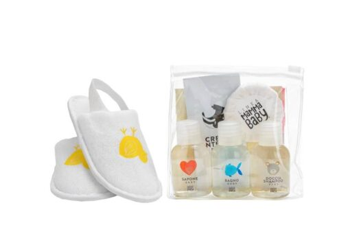 Linea MammaBaby Mini set + papuče