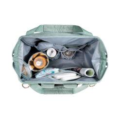 Lässig ruksak/torba za kolica - Glam Goldie Mint