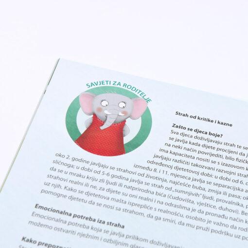 Slikovnica - Slonicu je strah vikanja i kazne (2+)