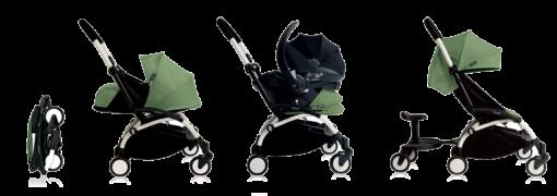 BABYZEN iZi Go Modular by BeSafe® Autosjedalica Black