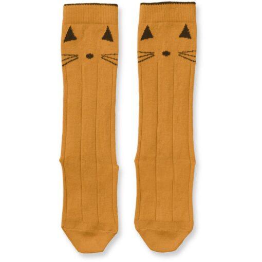 Liewood dokoljenke - Cat Mustard