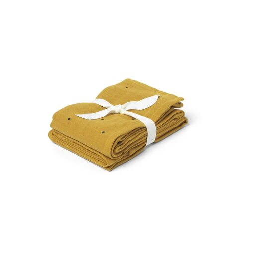 Liewood tetra pelene (2 kom) - Dot Mustard