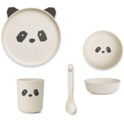 Liewood set za jelo - Panda