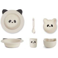 Liewood baby set za jelo - Panda
