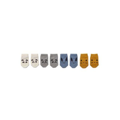 Liewood stopalice (4 kom) - Blue Mix