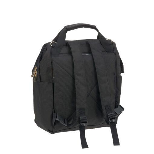 Lässig ruksak/torba za kolica - Glam Goldie Black