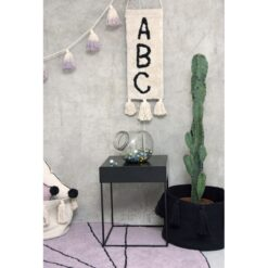 Lorena Canals zidni dekor - ABC