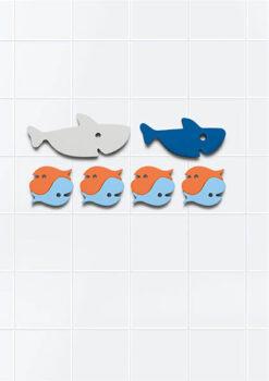 Quut puzzle za kupanje - Morski psi