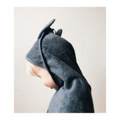 Liewood ručnik - Rabbit Blue Wave