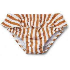 Liewood kupaće gaćice Elise, Stripe - Mustard/Creme de la Creme