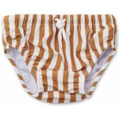 Liewood kupaće gaćice Frej, Stripe - Mustard/Creme de la Creme