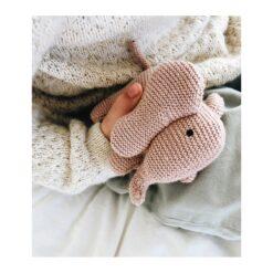 Liewood pletena zvečka - Slon, rozi