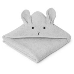 Liewood ručnik - Rabbit Dumbo Grey