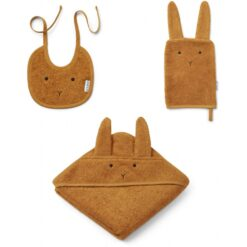 Liewood baby set - Rabbit Mustard