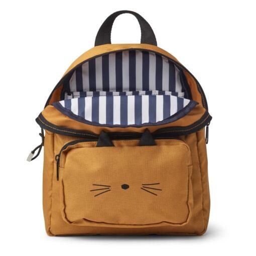Liewood ruksak - Cat Mustard
