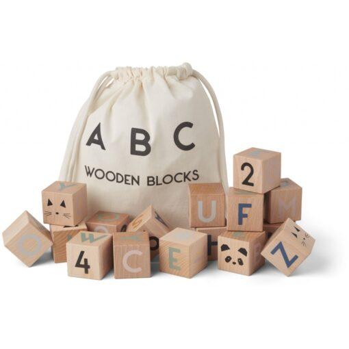 Liewood drvene kocke