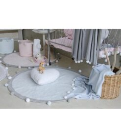 Lorena Canals dekica - Baby Bubbly Soft Blue