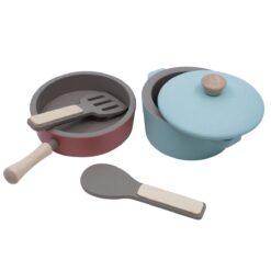 Sebra drveni kuhinjski set