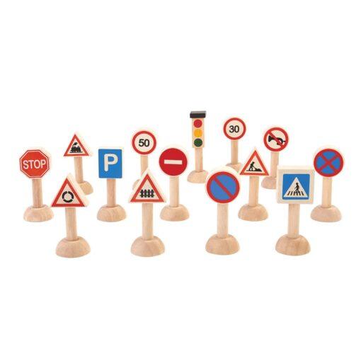 PlanToys - Prometni znakovi i semafor