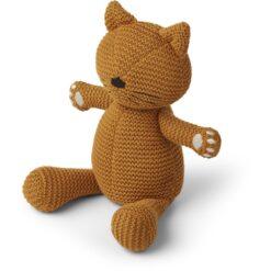 Liewood pletena igračka - Cat Mustard