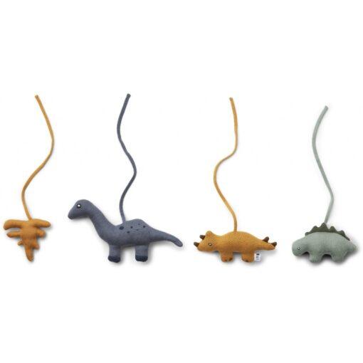 Liewood igračke za baby gym - Dino mix