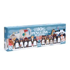 Londji 10 penguins - puzzle