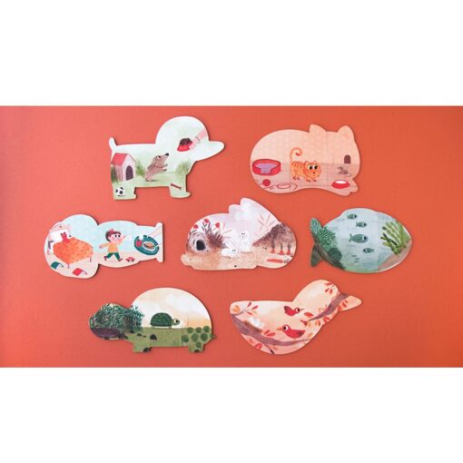 Londji I Love My Pets - puzzle