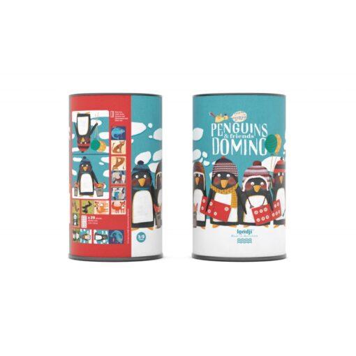 Londji Penguins&Friends domino