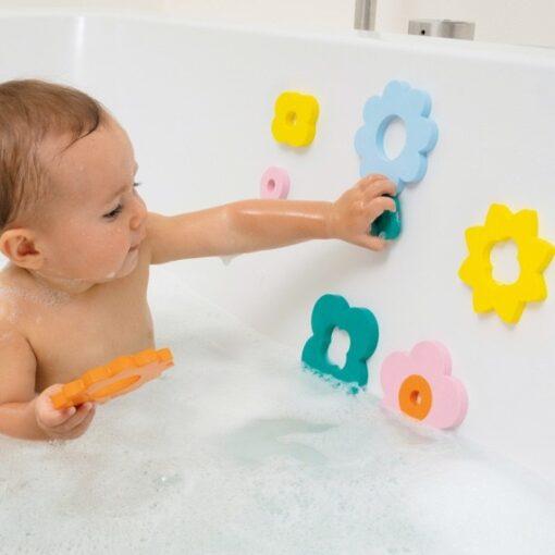 Quut puzzle za kupanje - Cvjetići