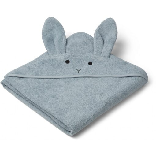 Liewood ručnik - Rabbit Sea Blue