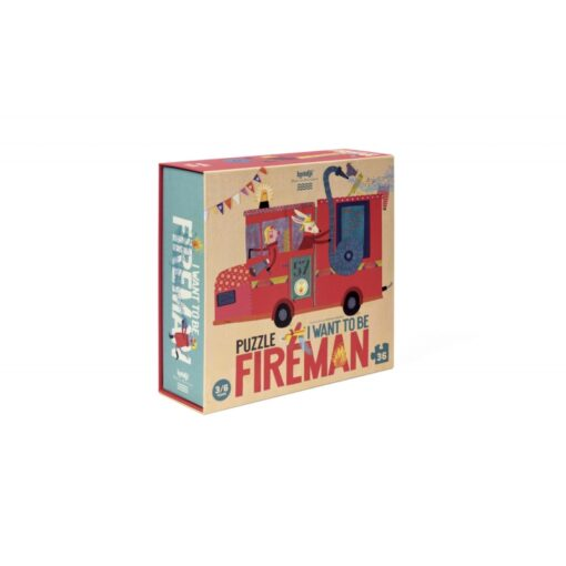 Londji I want to be... fireman - puzzle