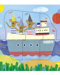 Londji Bon Voyage - puzzle