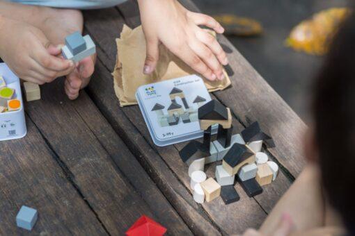 PlanToys Mini - Set za gradnju