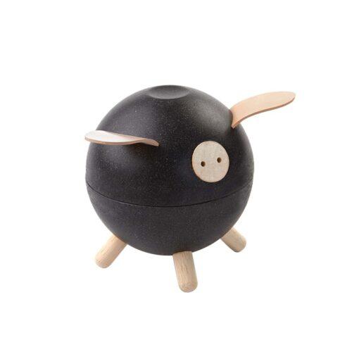 PlanToys - Kasica prasica (crna)