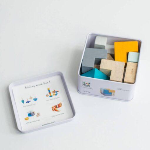 PlanToys Mini - 3D kocke slagalice