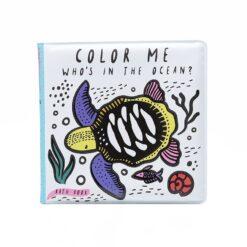 Wee Gallery knjiga za kupanje Color Me -  Ocean