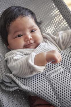 BabyBjörn ležaljka Bliss - Grey, Mesh