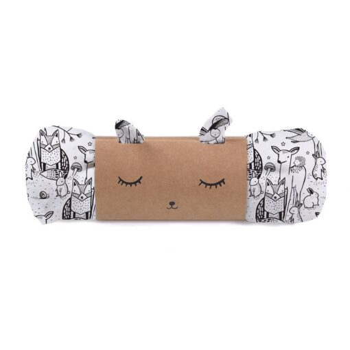 Wee Gallery swaddle - Forest