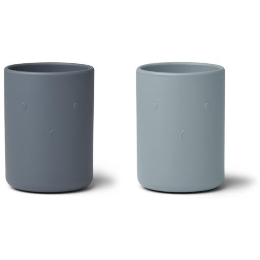 Liewood čaša (2 kom) - Blue Mix