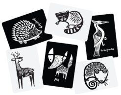 Wee Gallery kartice - Woodland