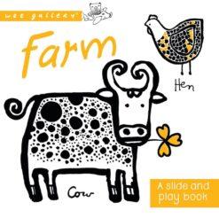 Wee Gallery Slide&Play Board Book - Farm