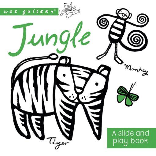 Wee Gallery Slide&Play Board Book - Jungle