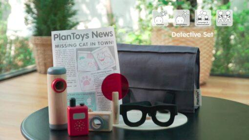 PlanToys - Detektivski set