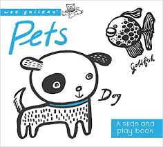 Wee Gallery Slide&Play Board Book - Pets