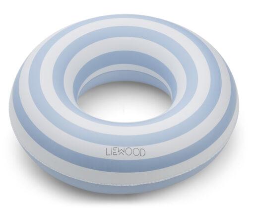 Liewood kolut za plivanje - Stripe: Sea Blue/Creme de la Creme