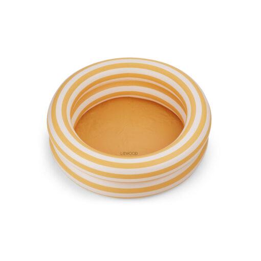 Liewood bazen (80 cm) - Stripe: Yellow mellow/creme de la creme