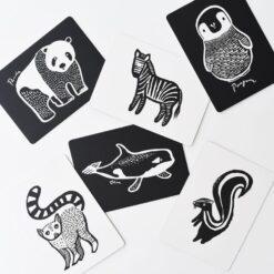 Wee Gallery kartice - Black & White