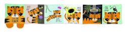 Wee Gallery platnena knjiga - Tigar