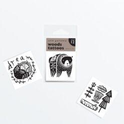 Wee Gallery Tattoo - Woods